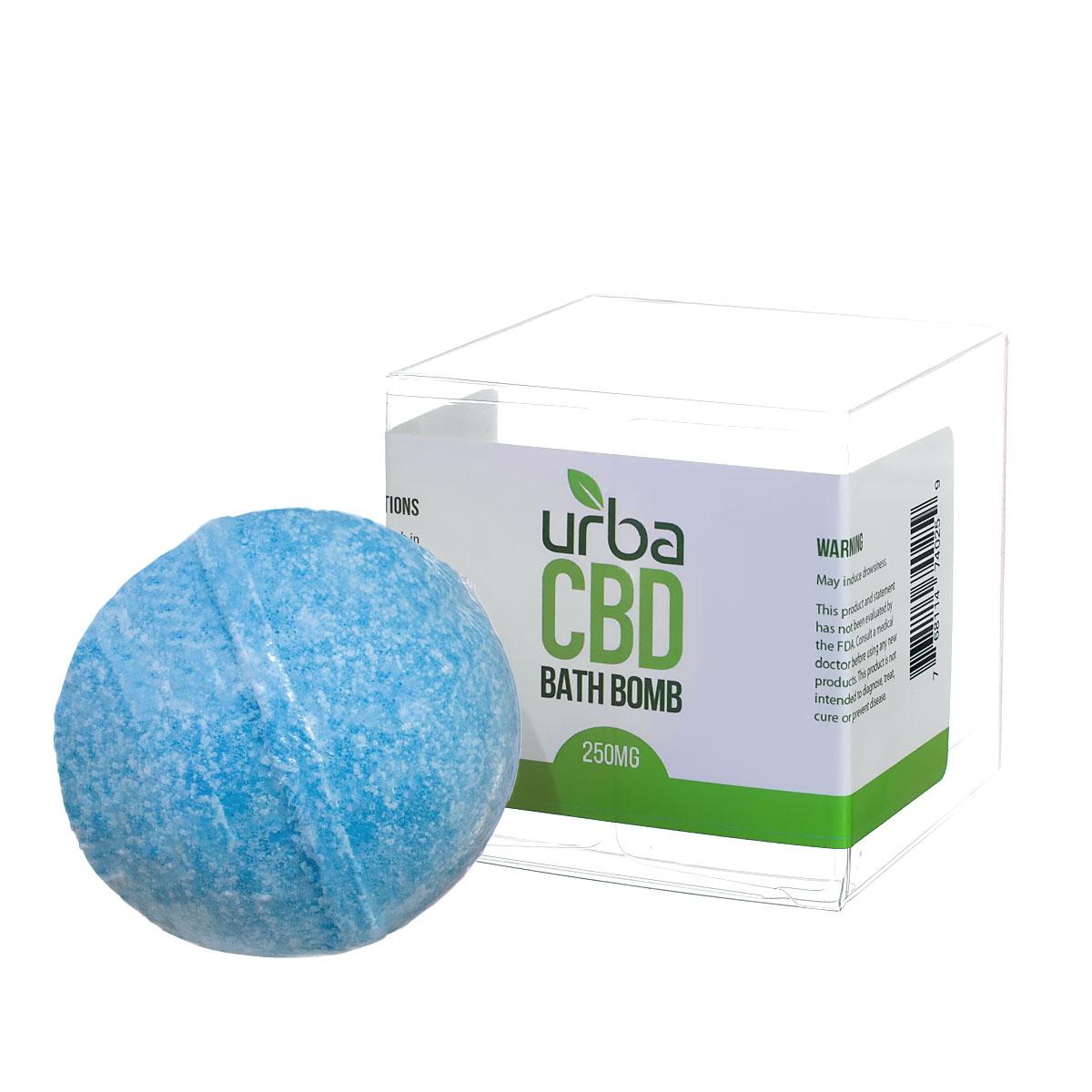Urba CBD Bath Bomb Blue