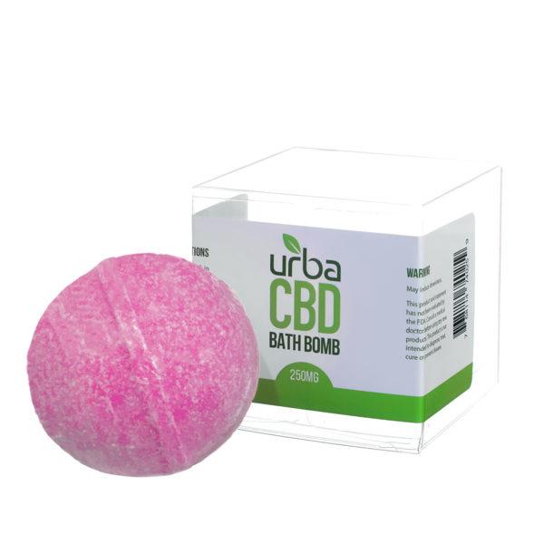Urba CBD Bath Bomb Pink