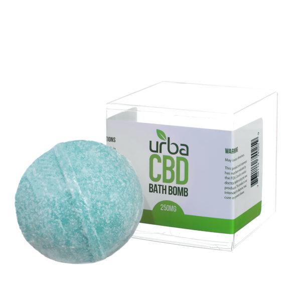 Urba CBD Bath Bomb Teal