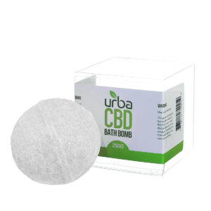 Urba CBD Bath Bomb White