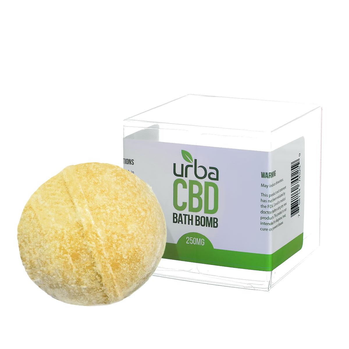 Urba CBD Bath Bomb Yellow