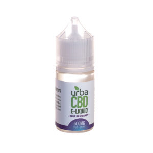 Urba CBD Eliquid Blue Raspberry 500mg