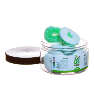 Urba CBD Gummies Rings Green 500mg