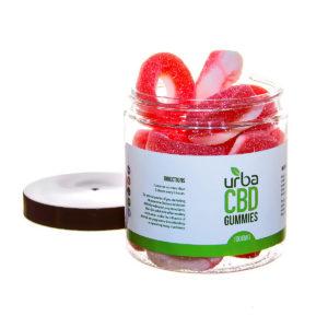Urba CBD Gummies Rings Red 1000mg