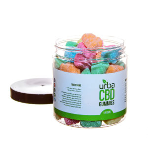 Urba CBD Gummies Sour Bears 1000mg