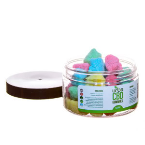 Urba CBD Gummies Sour Bears 500mg