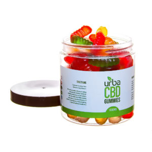 Urba CBD Gummies Worms 1000mg