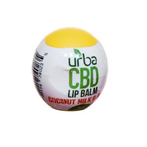 Urba CBD Lip Balm Coconut MIlk Peach