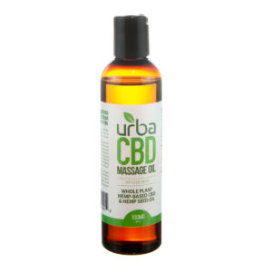 Urba CBD Massage Oil 100mg
